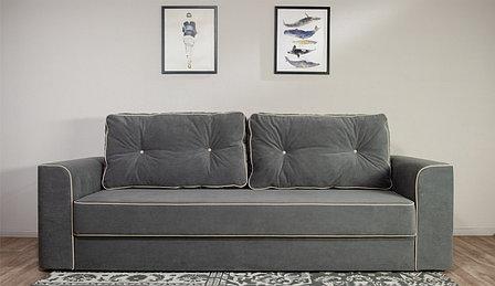 Диван прямой раскладной Сиеста, Ultra (grey), Ultra (sand), Империал (Россия), фото 2