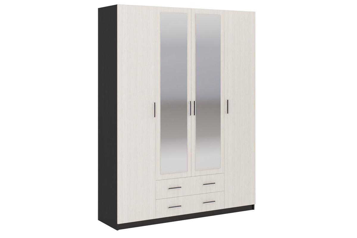 Шкаф для одежды 4Д Гармония, Анкор Анкор светлый, Стендмебель (Россия)