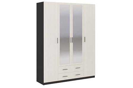 Шкаф для одежды 4Д Гармония, Анкор Анкор светлый, Стендмебель (Россия), фото 2