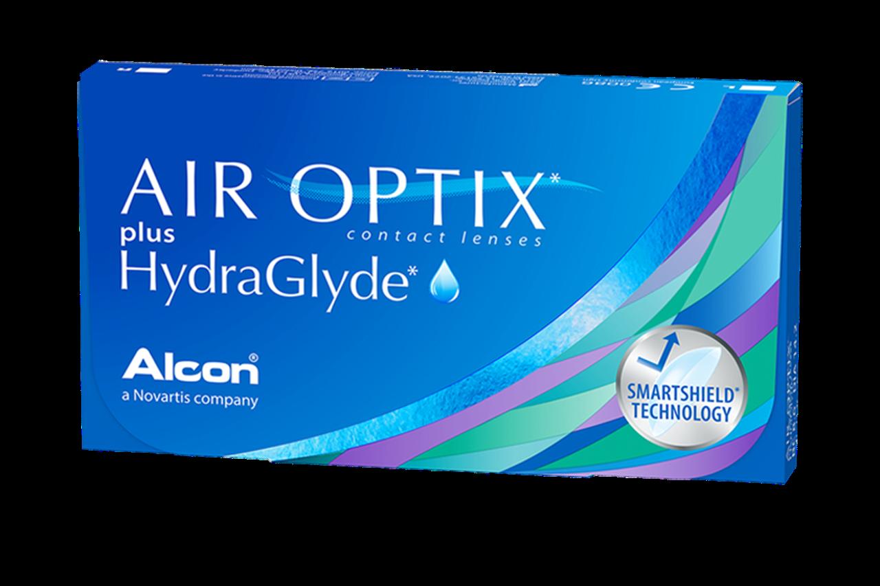 Контактные линзы Alcon AIR OPTIX plus HydraGlyde - фото 1
