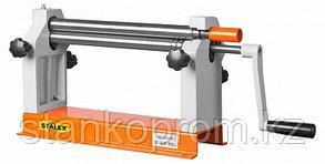 W01-0.8х305 станок вальцовочный ручной настольный Stalex