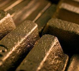 Слиток бронзовый