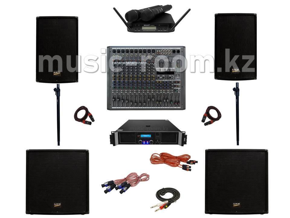 Комплект звуковой аппаратуры 2400 Ватт