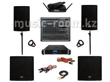 Комплект звуковой аппаратуры 2200 Ватт