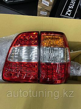 Рестайлинговые светодиодные фонари на Land Cruiser 100 1998-2007г.