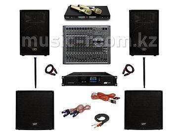 Комплект звуковой аппаратуры 2800 Ватт