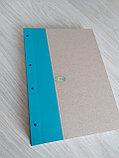 Папка для архивного переплета с голубым корешком, фото 5