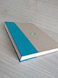 Папка для архивного переплета с голубым корешком, фото 4