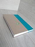 Папка для архивного переплета с голубым корешком, фото 8