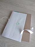 Папка для архивного переплета с голубым корешком, фото 6