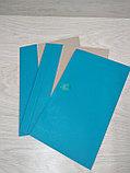 Папка для архивного переплета с голубым корешком, фото 3