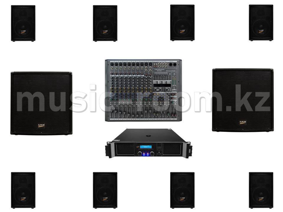 Комплект звуковой аппаратуры 3600 Ватт