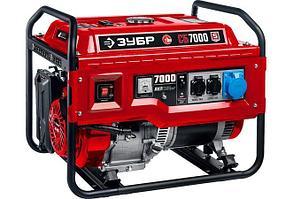 Бензиновый генератор Зубр СБ-7000, 7 кВт