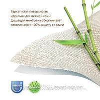 Наматрасник непромакаемый Plitex Bamboo Waterproof Comfort с резинками на углах, фото 3