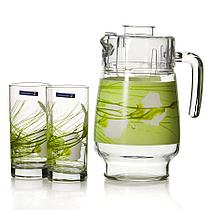 Графин со стаканами Luminarc Sofiane green (7 предметов)