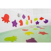 Набор антискользящих мини-ковриков для ванны 8 шт., цвет МИКС