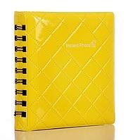Фотоальбом Instax Mini Clear Yellow на 64 фотографии