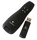 Беспроводной презентер Logitech R400, дальность 20 м, красный лазер, черный, USB, фото 2