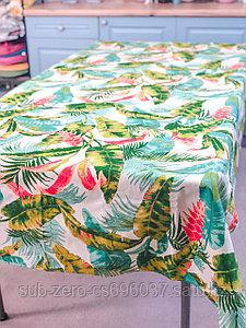 """Скатерть прямоугольная """"Tropical kitchen"""" 130x180 см и 150x230 см."""