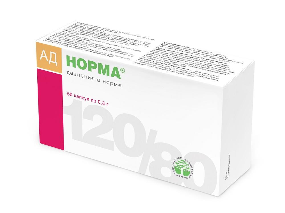 АД - Норма 300 мг №60 капсулы