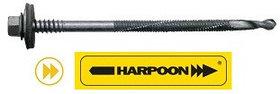 Саморезы HARPOON Plus для сэндвич-панелей, крепление к подконструкциям до 16 мм