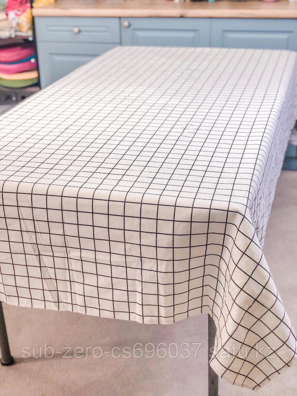 """Скатерть прямоугольная """"Square"""" 150x350 см ."""