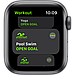 Apple Watch SE GPS, 40mm Space Gray Aluminium Case with Black Sport Band, фото 3