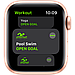 Apple Watch SE GPS, 40mm Gold Aluminium Case with Pink Sand Sport Band, фото 3