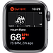 AApple Watch SE GPS, 44mm Space Gray Aluminium Case with Black Sport Band, фото 4