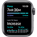 AApple Watch SE GPS, 44mm Space Gray Aluminium Case with Black Sport Band, фото 5