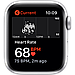 Apple Watch SE GPS, 44mm Silver Aluminium Case with White Sport Band, фото 4