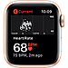 Apple Watch SE GPS, 44mm Gold Aluminium Case with Pink Sand Sport Band, фото 4