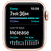 Apple Watch SE GPS, 44mm Gold Aluminium Case with Pink Sand Sport Band, фото 5