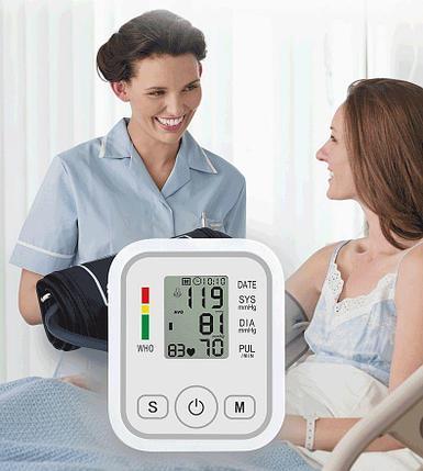 Тонометр осциллометрический  JZIKI для измерения артериального давления и пульса, фото 2