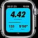 Apple Watch Nike SE GPS, 44mm Silver Aluminium Case with Pure Platinum/Black Nike Sport Band, фото 3