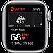 Apple Watch Nike SE GPS, 44mm Silver Aluminium Case with Pure Platinum/Black Nike Sport Band, фото 4
