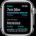 Apple Watch Nike SE GPS, 44mm Silver Aluminium Case with Pure Platinum/Black Nike Sport Band, фото 5