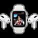 Apple Watch Nike SE GPS, 44mm Silver Aluminium Case with Pure Platinum/Black Nike Sport Band, фото 9