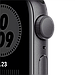 Apple Watch Nike SE GPS, 44mm Space Gray Aluminium Case with Anthracite/Black Nike Sport Band, фото 2
