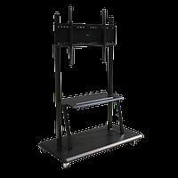 Мобильная стойка для интерактивных дисплеев 75-100 диагонали