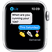 Apple Watch Nike Series 6 GPS, 40mm Silver Aluminium Case with Pure Platinum/Black Nike Sport Band, фото 6