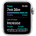 Apple Watch Nike Series 6 GPS, 44mm Silver Aluminium Case with Pure Platinum/Black Nike Sport Band, фото 5
