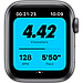 Apple Watch Nike Series 6 GPS, 44mm Space Gray Aluminium Case with Anthracite/Black Nike Sport Band, фото 3