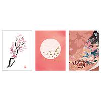 БИЛЬД Постер, Ветка вишни в цвету 30x40 см