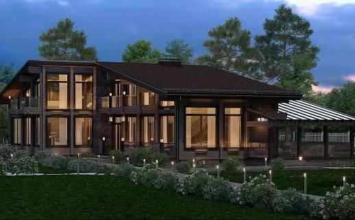 Проект дома №3337