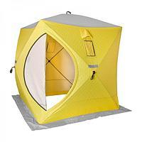 Палатка для зимней рыбалки ТОНАР HELIOS КУБ утепленный, размер 1,5х1,5 м.