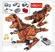 Конструктор Тирекс на радиоуправлении. Winner/BELA Technology Динозавр 1127 -  1092 дет