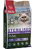 Низкозерновой сухой корм для стерилизованных кошек Blitz Holistic Sterilised Cats Chicken&Liver курица печень
