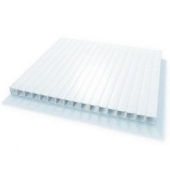 Листы сотового поликарбоната,Euro Tek 6мм-6м,(белый)