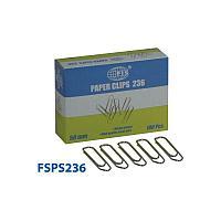 Канцтовары FIS Скрепки FSPS236 50мм, в картонной коробке, 100шт.